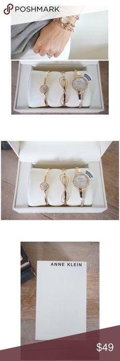 31f718ab6983 NWB Anne Klein one size gold watch set of 3 🌺🌸 NWB Anne Klein one