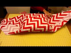 Fabric Wrapping - No sew Pillow Sham. SO buying a thrift store pillow and new fabric to make this.