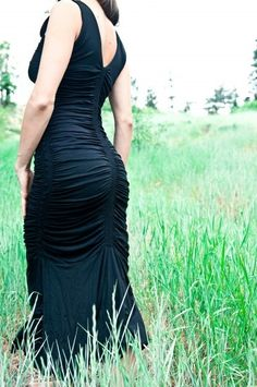 BLACK - Leom Designs - 'hatihati' dress, $128.00 (http://www.leomdesigns.com/hatihati-dress/)