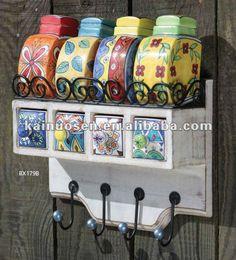 De la mano - cerámica pintada cajones de especias, de porcelana jar spice-Almacenamiento de botellas y tarros-Identificación del producto:545868845-spanish.alibaba.com