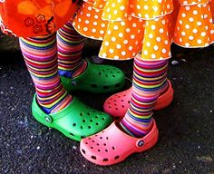 This may seem silly, but I think every child is entitled to wear mismatched clothing at least a few times in his or her life (if not all the time). Besides, look at what a great shot you can get when they dress colorfully.