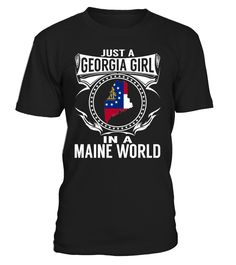 Just a Georgia Girl in a Maine World