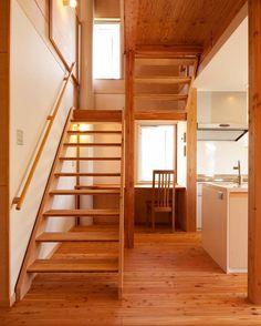 広島市安佐南区N様邸:リビング階段