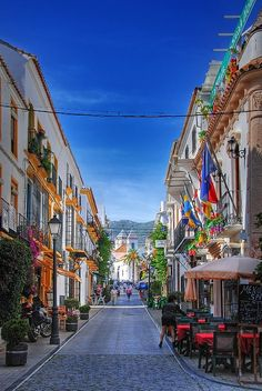 Streets of Marbella, Spain | Incredible Pictures