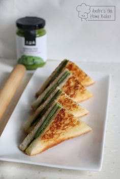 Matcha Honey Mochi Toastie by Andresthehomebaker - Sweeter Life Club