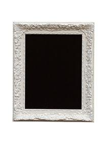 Le tableau-ardoise baroque cadre blanc