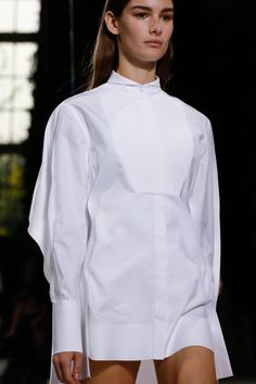 Shirtdress | Balenciaga Spring 2014 RTW #style #fashion