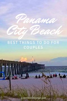 Things to do in Panama City Beach for an Unforgettable Romantic Adventure 'Love is meant to be an adventure.' Panama City Beach offers adventures wrapped in natural beauty. From young love to rekindling flames, PCB is just the romantic. Beach Vacation Tips, Florida Vacation, Florida Travel, Beach Trip, Travel Usa, Travel Tips, Vacation Checklist, Beach Vacations, Beach Travel