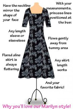 Women's clothing made to order. Dress By Design.