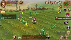 Light of Aiaran is a Android Free 2 play Fantasy Role Playing MMO Game MMORPG featuring real-time Open Field Battles