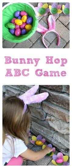 Bunny Hop ABC Game
