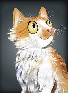 pet portrait  media: adobe illustrator by chris beetow