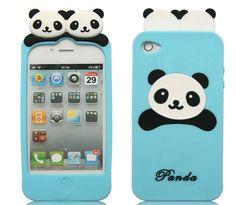 Cute panda phone case