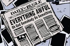 Newspaper from Hawkeye vol. 4 #2
