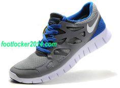 Nike Free Run 2 Gray Blue For Men Shoes For Running