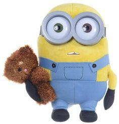 Minions Plush Figure Bob with Bear velvet