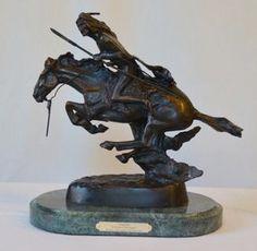 The Cheyenne - Frederick Remington - Bronze
