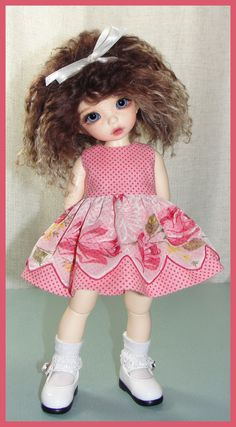Hey, I found this really awesome Etsy listing at https://www.etsy.com/listing/219786498/valentines-dress-for-littlefee-bjd