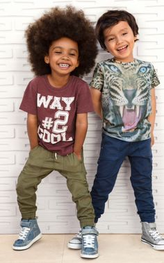 H&M Kids spring 2014 | ps I LOVE HIS FRO! <3