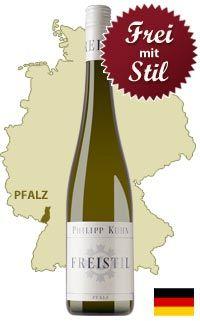 Unser Tipp: Philipp Kuhn Freistil trocken - http://weinblog.belvini.de/philipp-kuhn-freistil-trocken