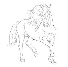 More Like Rearing Horse Line Art By XXKincadesVanityXx