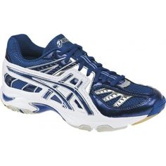 777f0aab8adf Asics gel-volleylyte b055n womens size 9 blue royal volleyball