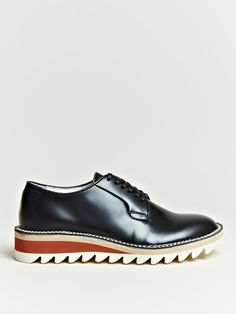 Hiroshi Tsubouchi Women's Ripple Sole Derby Shoes . Don´t get excited boys .... these are ladies shoes