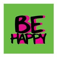 Be Happy  Fine Art Print