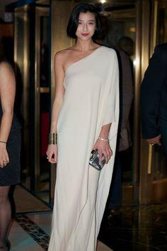 Simple One Shoulder Dress