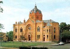 Hungarian postcard - Szolnok. The Gallery