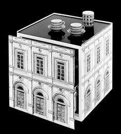 fornasetti-architettura-cubic-base-with-drawer.jpg (1667×1846)