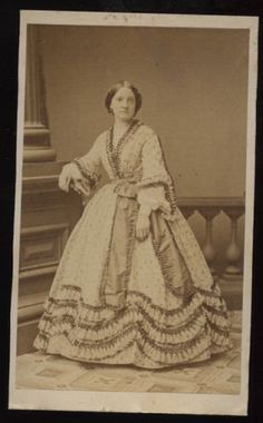 Early-1860s-CDV-of-a-LADY-IN-FANCY-OUTFIT