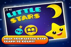 Little Stars! for iPhone - learn to count (numbers 1-10) and identify quantities. Appysmarts score: 81/100