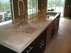 80 best kitchens concrete countertops images concrete countertops rh pinterest com