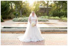 Mercer Arboretum Bridals / Kasey Lynn Photography
