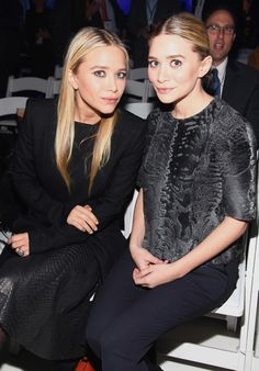 Mary-Kate Olsen and Ashley Olsen attend the jcpenney
