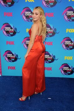 Peyton Roi List at Teen Choice Awards 2017, Los Angeles (13 August, 2017)