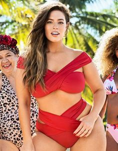 We've rounded up the best affordable plus size clothing websites where you can find great pieces. These plus size clothing websites at prices are in our budget and great quality. Plus Size Bikini Bottoms, Women's Plus Size Swimwear, Curvy Swimwear, Affordable Plus Size Clothing, Curvy Bikini, Bikini Swimsuit, Best Swimsuits, Plus Size Kleidung, Looks Chic