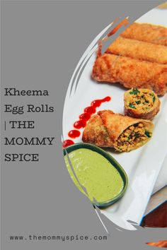Kheema Egg Rolls are Indian spiced minced/ground meat goodness. I make huge batches and freeze the extras to always have on hand. Perfect for game days or parties! You will not be able to stop at one! #kheema #eggroll #quickrecipes #indianrecipes Best Chicken Recipes, Top Recipes, World Recipes, Other Recipes, Indian Food Recipes, Egg Roll Ingredients, Egg Roll Filling, Good Food, Yummy Food