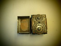 Custom Steampunk Deck Box for MTG Sleeved Cards by Leifkicker, $39.99
