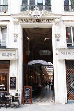 Passage du Grand Cerf, Paris IIème.