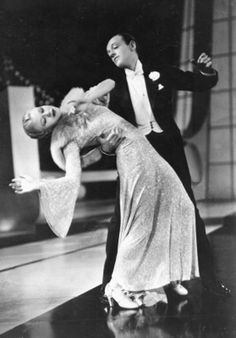 Fred Astaire and Ginger Rogers. Let's Face the Music and Dance from 'Follow the Fleet', 1936