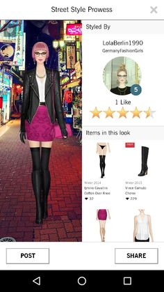 Covet Fashion Street Style Prowess Style Challenge - Jet Set