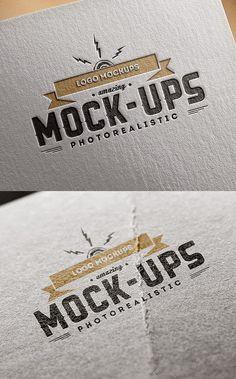 30+ Mockup Desain Logo Gratis Download (File Photoshop) – Site Aneka Tutorial