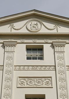 Georgian Façade | Kenwood House (also known as the Iveagh Bequest) is a former stately home, in Hampstead, London, on the northern boundary of Hampstead Heath. It served as a seat for the aristocratic Murray and Guinness families and had various tenants before it was left to the nation under the care of English Heritage. The original house dates from the early 17th century when it was known as Caen Wood House. Wikipedia
