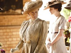 """Sybil Crawley: """"No one ever learned anything from a governess except for French, and how to curtsy."""""""