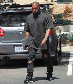 Kanye West wearing Faith Connexion Destroyed Allover Jumpsuit, Adidas Ultra Boost Shoes, Rolex Day-Date II President Watch Kanye West Outfits, Kanye West Style, Adidas Ultra Boost Shoes, Adidas Boost, Fashion Mode, Mens Fashion, Kanye West Songs, Urban Outfitters Men, Black Men Street Fashion