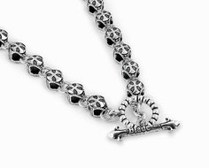 """Twisted Blade Silver Round Cross Link Chain 30"""""""