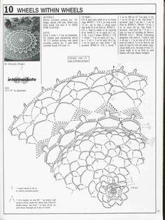 """Альбом «""""Decorative crochet"""" №14.»/салфетки/. Обсуждение на LiveInternet - Российский Сервис Онлайн-Дневников"""