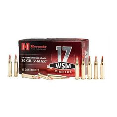 The Hornady V-MAX bullet uses a polymer tip that delivers tack-driving accuracy at long range and also creates exceptional expansion on impact.